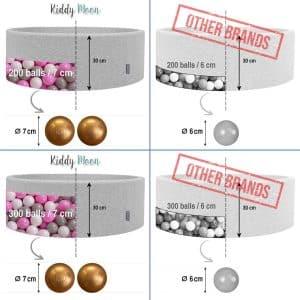 L'absence de cadre est compensée par un rembourrage en mousse polyuréthane indéformable