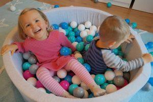Cet espace de jeux est dédié aux bébés et aux enfants en bas âge