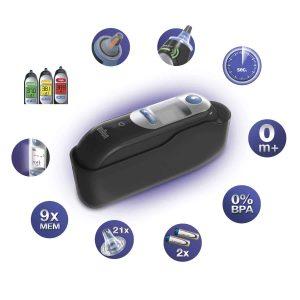 le Braun Thermoscan 7 Thermomètre Auriculaire très efficace et hygiénique