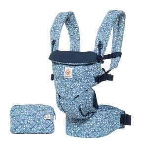 Ergobaby porte-bébé ergonomique tout-en-un saura s'adapter à la morphologie de tous les porteurs