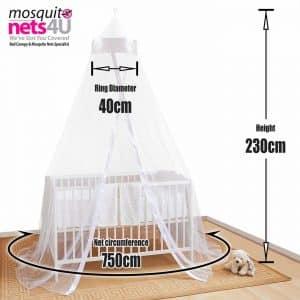 Le Mosquito Nets Ltd est ultra pratique