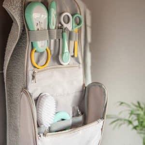 La Trousse de Toilette pour Bébé doit toujours rester propre tout comme les accessoires qu'elle contient
