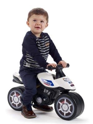 Les parents qui postent leurs avis Falk Moto Police Draisienne sur la toile sont dans leur majorité satisfaits de la draisienne pour enfant