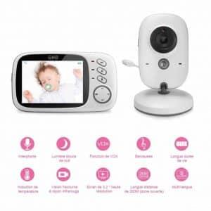 Branchez l'appareil dans la prise murale pour que la caméra de surveillance soit fonctionnelle